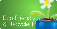 Eco Friendly and Recycled